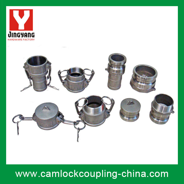 SS Camlock Coupling-whole set